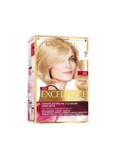 L'Oréal Paris Excellence Creme 9 Numara Saç Boyası 3'lü Set Renkli
